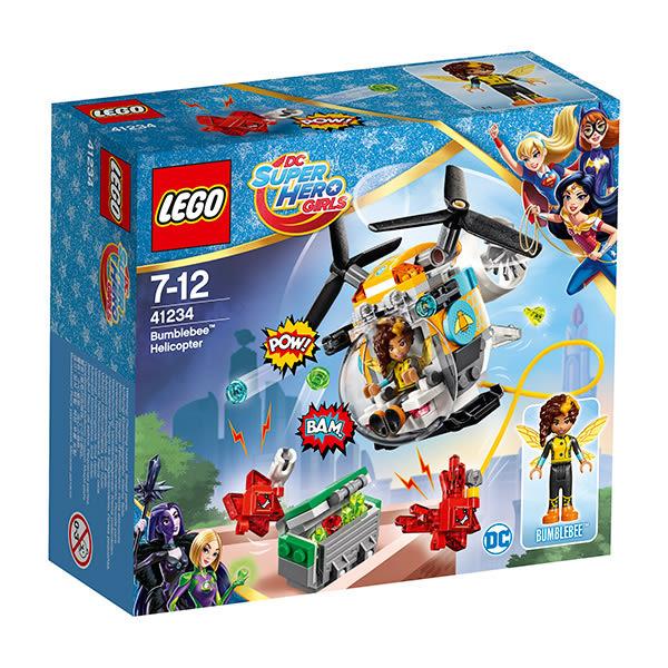 樂高積木LEGO 超級女英雄系列 41234 黃蜂女的直升機