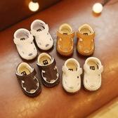 涼鞋 防滑軟底學步鞋嬰兒鞋6-12個月寶寶涼鞋Mandyc