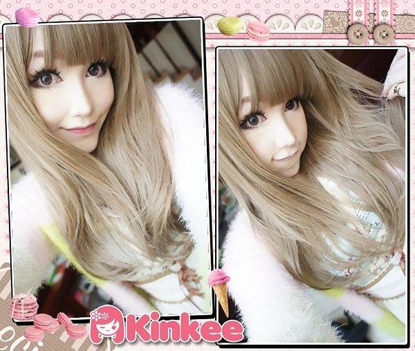 *╮Kinkee假髮╭*♥ 日本A牌 輕甜溫柔氛圍 新手必備 中長內灣耐熱假髮【A0003】