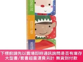 二手書博民逛書店罕見原版 聖誕節3冊繪本Christmas Eve Festive Fun Winter WoY454646