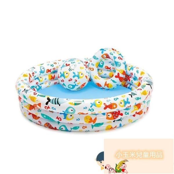 嬰兒海洋球池充氣游泳池兒童家用戲水池室內