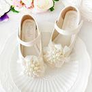 女童皮鞋2018春秋新款韓版兒童公主鞋單鞋演出鞋小女孩豆豆鞋軟底