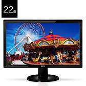 BenQ 明基 GL2250-F 22型 5毫秒反應時間 螢幕 液晶顯示器