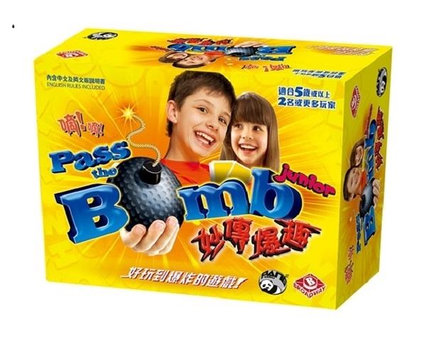 『高雄龐奇桌遊』 妙傳爆趣 Pass the Bomb Junior 繁體中文版 正版桌上遊戲專賣店