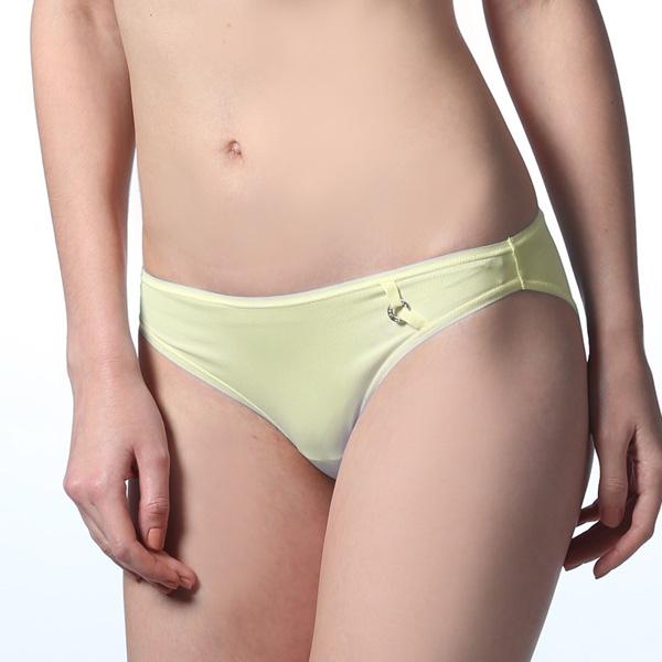 LADY 莉莉思 沁涼系 低腰三角褲(蛋糕黃)