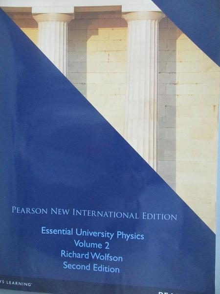 【書寶二手書T3/大學理工醫_QJC】Essential University Physics Volume 2_wol