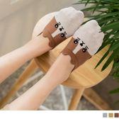 《ZB0586》韓國製貓咪表情印花小耳朵短襪 OrangeBear