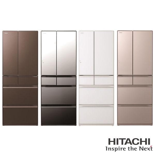 日立 HITACHI 日本製 610L六門變頻琉璃冰箱 RHW610JJX / RHW610JJXH / RHW610JJXN / RHW610JJXW