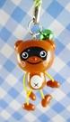 【震撼精品百貨】日本精品百貨-手機吊飾/鎖圈-狸貓系列-手機吊飾