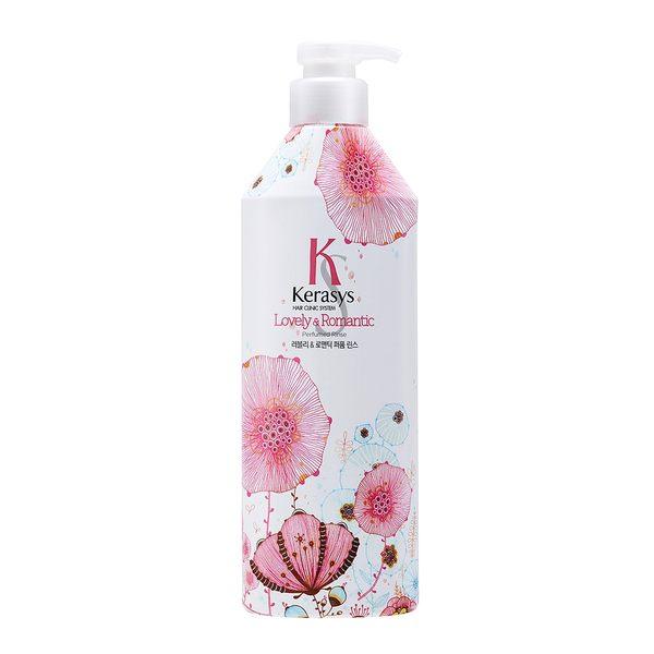 【即期品】KERASYS可瑞絲香氛潤髮乳-浪漫粉紅(600ml) 韓國 香水洗髮 效期2019/2/28