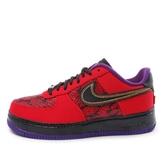 Nike Air Force 1 CMFT [555106-600] 男鞋 運動 休閒 經典 蛇紋 紅黑
