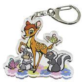 《Small Planet》迪士尼歡樂人物日本製壓克力鑰匙圈(小鹿斑比)_DP24888