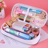 密碼鎖文具盒男女多功能筆袋初中學生可愛大容量創意小學生鉛筆包 晴天時尚館