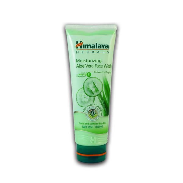 印度 Himalaya 蘆薈保濕洗面乳 100ml Moisturizing Aloe Vera Face Wash 【小紅帽美妝】