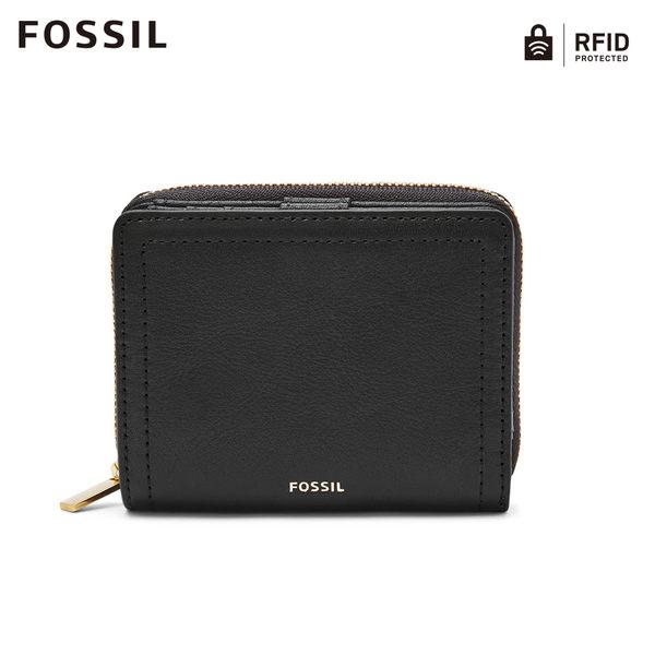 FOSSIL LOGAN RFID 黑色迷你多功能短夾SL7923001