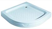 【麗室衛浴】 圓弧型 80*80CM 壓克力淋浴底盆 B-505-1