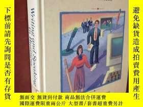 二手書博民逛書店WRITING罕見AND SPEAKING IN BUSINESSY177301