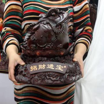 Z096三足金蟾旺財禮物