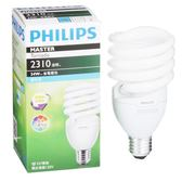 Philips 飛利浦 T2 螺旋省電燈泡34W白光【愛買】