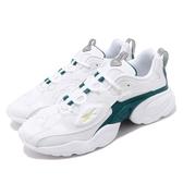 Reebok 慢跑鞋 Electro 3D LT 白 綠 厚底 復古 男鞋 女鞋 【PUMP306】 EG6223