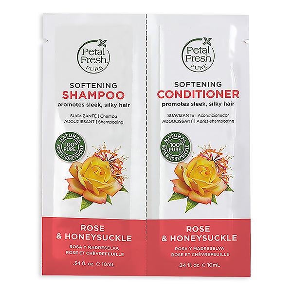 [試用包三入] 沛特斯忍冬玫瑰潔淨洗髮精+潤絲精10mlX2