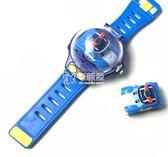 遙控車 玩具車手錶社會人迷你遙控小汽車錶帶網紅兒童安巴遙控車 卡菲婭