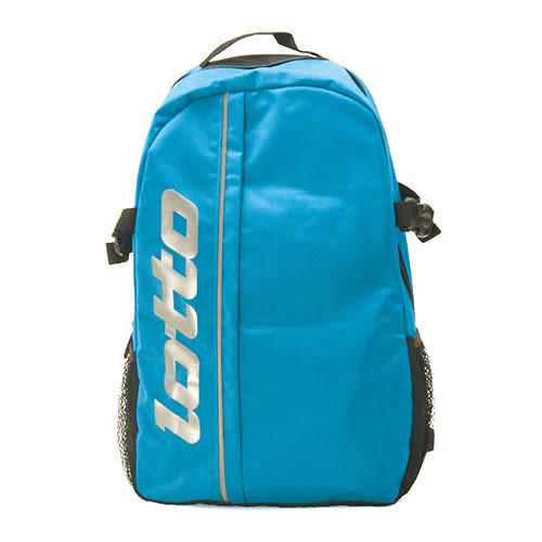 LOTTO 經典後背包 輕便背包 休閒登山背包 藍 B7006