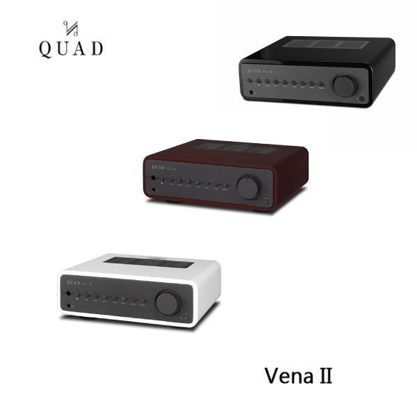 【限時特賣+24期0利率】QUAD 英國 Vena II 藍芽 DAC 綜合擴大機 (木框版) 公司貨