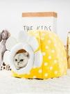 貓窩 加厚貓窩封閉式冬季保暖狗窩可拆洗貓屋房子冬天寵物狗狗窩墊