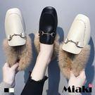 穆勒鞋.韓流保暖平底包鞋 (MIT)