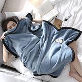 法蘭絨毛毯單人加厚冬季被子珊瑚絨學生宿舍蓋腿午睡毯小毯子男女