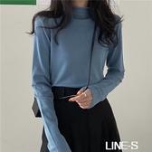 打底衫半高領女裝春秋冬季針織衫2020新款百搭毛衣內搭長袖上衣服