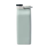 矽膠牛奶盒水瓶600ml青綠