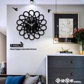 歐式石英時鐘創意臥室鐘表掛鐘現代簡約家用大氣客廳藝術個性時尚 西城故事