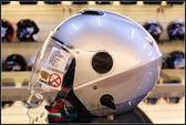 [中壢安信]ZEUS 瑞獅 ZS-202FB 202FB 素色 白銀 半罩 安全帽 高C/P值 內遮陽片