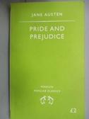 【書寶二手書T5/原文小說_ICC】Pride and prejudice_Jane Austen