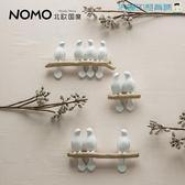 簡約墻飾小鳥壁飾樹脂動物壁掛【洛麗的雜貨鋪】