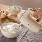 小熊打蛋器電動家用迷你打奶油機烘焙小型攪拌器打蛋機打發器手持