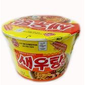 韓國不倒翁鮮蝦風味碗麵110g【愛買】