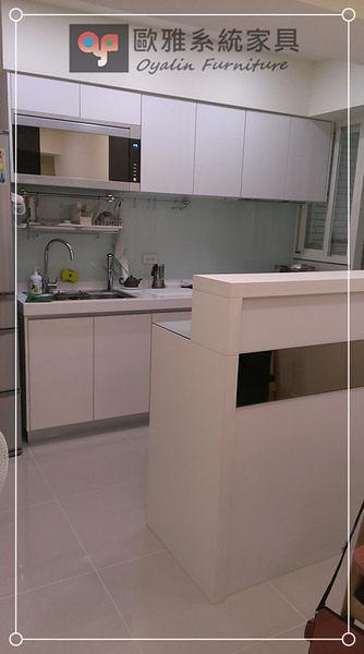 【歐雅系統家具】系統家具 系統收納櫃 高低差吧台設計