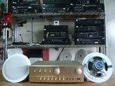 VITECH 廣播綜合擴主機 卡拉OK擴大機 80W*80W含高功率崁入式40w同軸喇叭  組合3