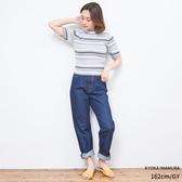 東京著衣-PrivateBeach-立領條紋針織上衣(5190010)