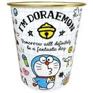 【震撼精品百貨】Doraemon_哆啦A夢~哆啦A夢 DORAEMON 塑膠垃圾桶(白格)#08444