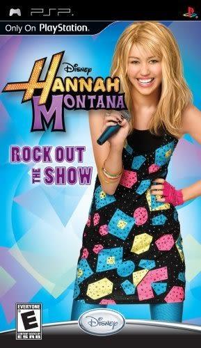 PSP Hannah Montana: Rock Out the Show 孟漢娜:搖滾秀(美版代購)