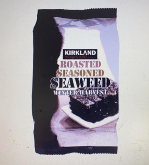 [COSCO代購] W743354 Kirkland Signature 科克蘭 韓國鹽烤海苔 17公克 X 10入/組