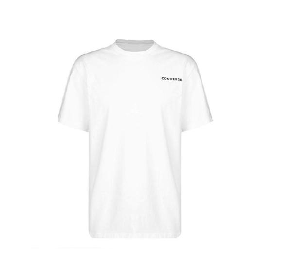 CONVERSE-白色短袖上衣-NO.10017432-A01