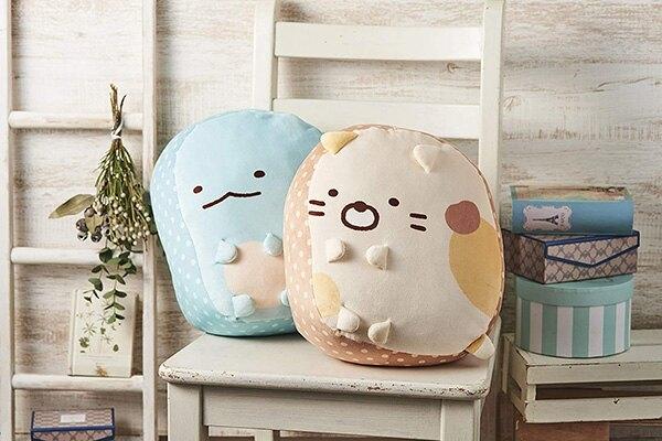 【角落生物 可愛抱枕】角落生物 抱枕 靠枕 椅墊 貓咪 日本正版 該該貝比日本精品