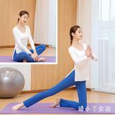 瑜伽服 運動套裝女 新款健身服顯瘦兩件套潮時尚莫代爾專業瑜伽服 df4408【潘小丫女鞋】