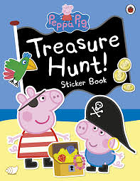 【佩佩豬】PEPPA PIG: TREASURE HUNT! /貼紙活動書