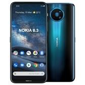 Nokia 8.3 5G 8G/128G【加送滿版玻璃保貼-內附保護套】